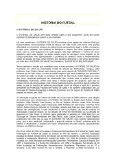 História do Futsal.doc