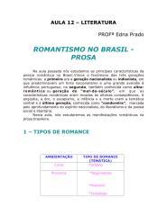 Literatura - Aula 12 - Romantismo no Brasil - Prosa.pdf