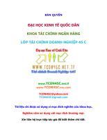 Tai chinh - tien te - Bo de trac nghiem - Dai Hoc Kinh te quoc dan.pdf