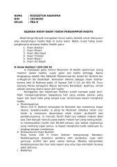 8. Sejarah Hidup Enam Tokoh Hadits.docx