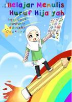 Buku Belajar Menulis alif ba ta