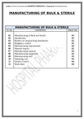 Manufacturing of bulk & sterile 1.docx