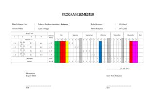 4. Program Semester.doc