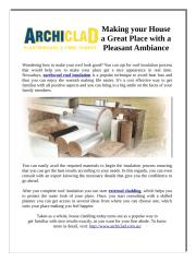 Making your House a Great Place with a Pleasant Ambiance.pdf