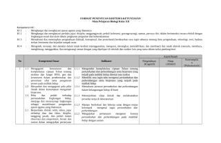 6. Penetapan Indikator Pencapaian Kompetensi.doc