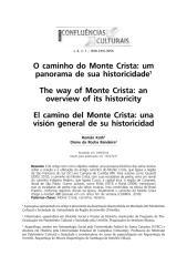 O caminho do Monte Crista - Um Panorama de Sua Historicidade - Romão Kath e Dione da Rocha Bandeira.pdf