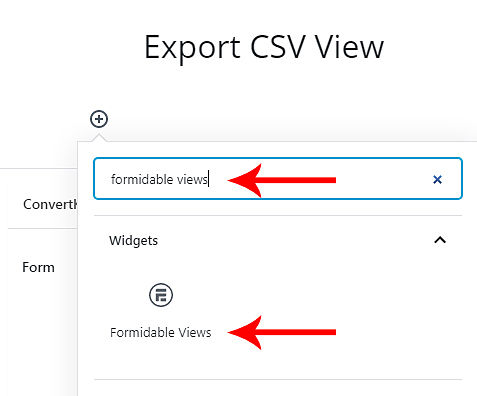 Export WordPress Form Submissions to CSV