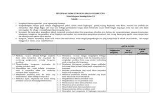 29. Penetapan Indikator Pencapaian Kompetensi.doc