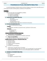 PHARMACEUTICAL INCOMPATIBILITIES.pdf