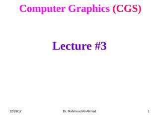CGS_Lec3.ppt