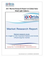 2017 Market Research Report on Global Solar Shed Light Industry.pdf