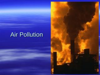Lecture 12  Air Pollution.ppt