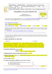 Certificate Template For Concrete Building.doc
