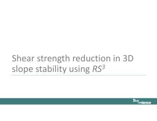 6- 3D Slope Stability Using SSR.pdf