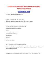 CANON MultiPASS 1000 SERVICE REPAIR MANUAL INSTANT DOWNLOAD.pdf