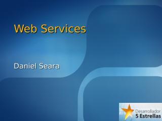 Web Services.ppt