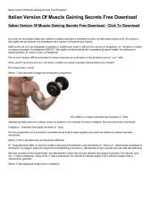 Italian-Version-Of-Muscle-Gaining-Secrets-Free-Download.pdf