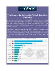 You Require To Be Familiar With 5 Gambling Statistics.pdf