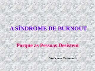 BURNOUT[1].ppt