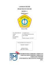 Lapres 1 Syarif.docx