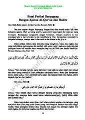 13 fasal perihal berpegang dengan ajaran al-qur'an dan hadits.pdf