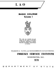 FSI - Lao Basic Course - Volume 1 - Student Text.pdf