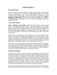 Press Release 3_Tigers.doc